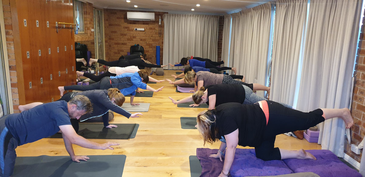 healthy living concepts group class